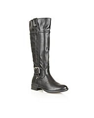 Manfield Buckle Detail E Fit boot