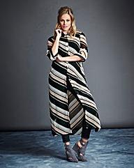 Simply Be Printed Longline Shirt Dress