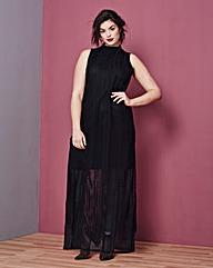Simply Be Side Split Lace Maxi Dress