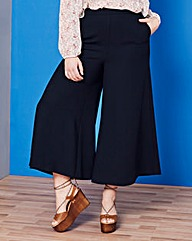 Simply Be Super Wide Leg Crop Trousers