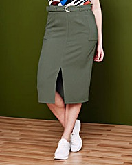Simply Be Pocket Utility Skirt