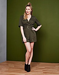 Simply Be Wrap Playsuit