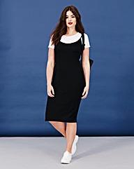 Simply Be 2-in-1 Midi Cami Dress