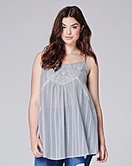 Simply Be Embroidered Cami