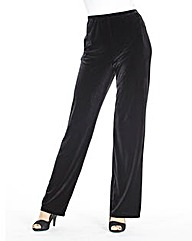 JOANNA HOPE Velour Palazzo Trousers 31in