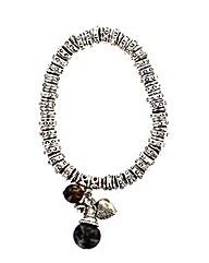 Stretchy Stone Bead Bracelet