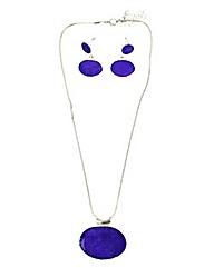 Enamel Jewellery Set