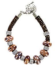 Ceramic Bead Bracelet