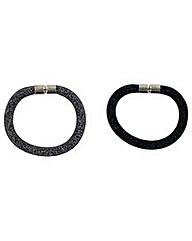 Mesh Sparkle Bracelet Set