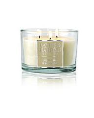 Jojoba, Silk & Almond Oil 3Wick Candle