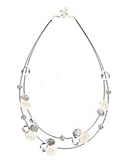 Wired Ovals Necklace