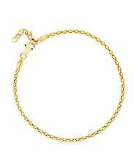 Simply Silver Popcorn Style Bracelet