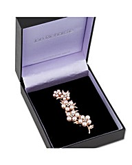 Jon Richard Five Pearl Flower Brooch