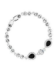 Jon Richard Crystal Peardrop Bracelet