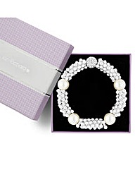 Jon Richard Pearl Ball Bead Bracelet