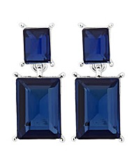 Jon Richard Blue Stone Drop Earring