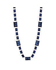 Jon Richard Blue Stone Link Necklace