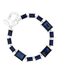 Jon Richard Blue Stone Link Bracelet