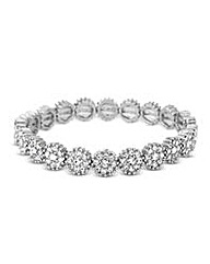 Jon Richard Crystal Stretch Bracelet