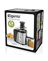 Elgento 400w Whole Fruit Juicer