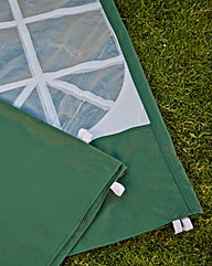 Set of 3 3m PVC Coated Gazebo Sidewalls
