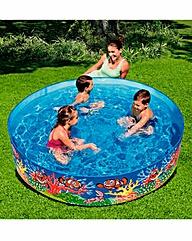 Chad Valley 6FT Ocean Fill N Fun Pool