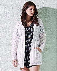 Bonded Lace Shower Jacket
