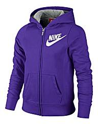 Nike Full Zip Girls Hooded Top