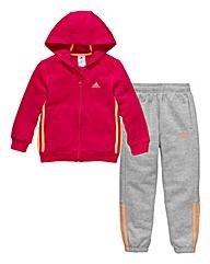adidas Infant Girls Tracksuit
