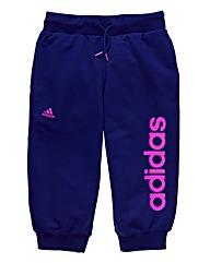 adidas Junior Girls Crop Joggers