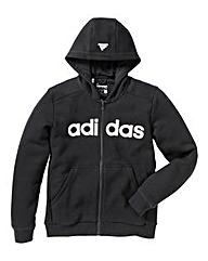 adidas Junior Boys Full Zip Hoodie
