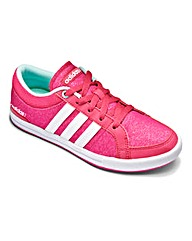 Adidas Girls Glitter Skool Trainers