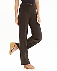 JOANNA HOPE Linen Blend Trouser 29in