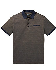Black Label Jaquard Polo Long