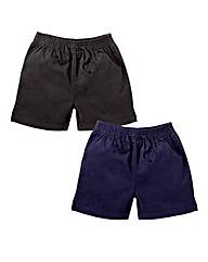 TKD Pk 2 Boys Woven Shorts (7-14 yrs)