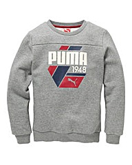 Puma Boys Crewneck Jumper (8-14 yrs)