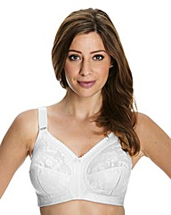 Triumph White Doreen Non-Wired Bra