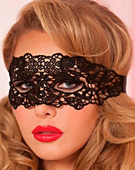 Seven Til Midnight Galloon Lace EyeMask