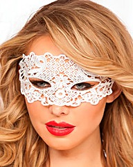 Seven Til Midnight Galloon Lace Eye Mask