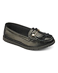 Heavenly Soles Leather Loafers E Fit