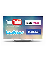 Goodmans 55in 4K Smart Curved TV