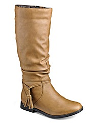 Sole Diva Extra Curvy Plus Calf Boot EEE