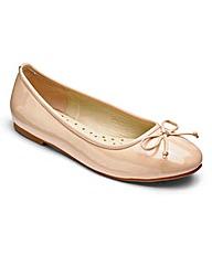 Sole Diva Basic Ballerinas EEE Fit