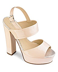 Sole Diva High Plafform D Fit