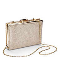 Sole Diva Box Clutch Bag