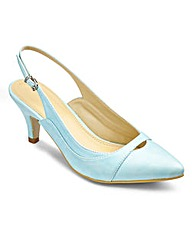Sole Diva Slingback Courts EEE Fit