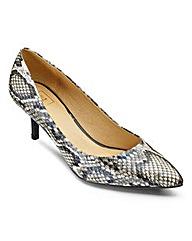 Sole Diva Plain Court Shoes EEE Fit