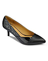 Sole Diva Panel Court Shoe E Fit
