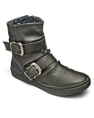 Blowfish Button Ankle Boots