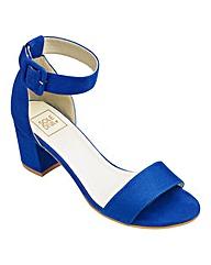 Sole Diva Block Heel Sandals EEE Fit